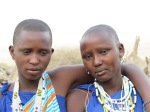 Married girls from Lake Natron village